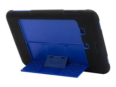 Griffin Survivor Slim - Flip cover for tablet - Silicone, Polycarbon