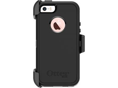 promo code 3b453 db3fd OtterBox Defender Series for Apple iPhone 5s/SE - Black/Black