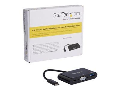 StarTech.com USB-C to VGA Adapter with PD