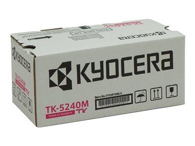 Kyocera TK 5240M Magenta Original Toner Cartridge