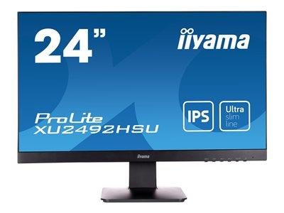 "iiyama XU2492HSU-B1 24"" 1920x1080 IPS VGA HDMI Speakers Ultra Thin"