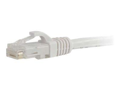 C2G 0.5m Cat6 UTP LSZH Network Patch Cable - White
