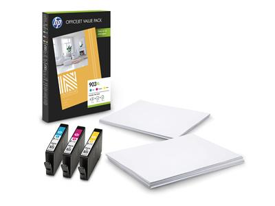 HP 903XL CMY Ink Cartridge OVP Pack
