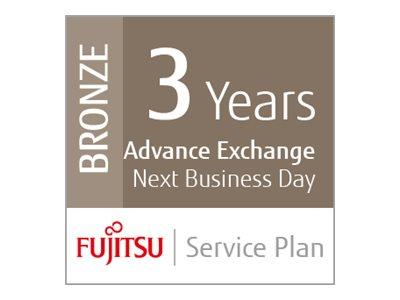 Fujitsu Assurance Program Bronze Extended Service Agreement 3 Years for SP-1125