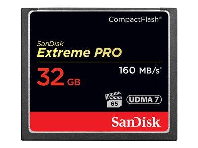 SanDisk Extreme Pro 32GB Flash Memory Card