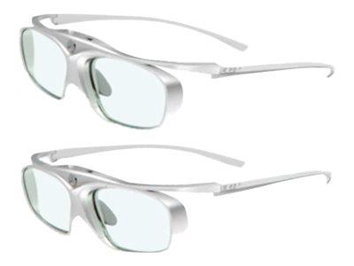 Acer DLP 3D Rechargeable Glasses - White/Silver