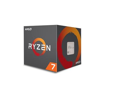 AMD Ryzen 7 1700 Wraith Spire 95W Cooler AM4 3.70GHz 20MB CPU