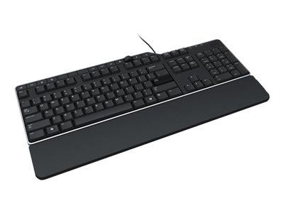 Dell Dell KB-522 Wired Business Multimedia USB Keyboard - Black
