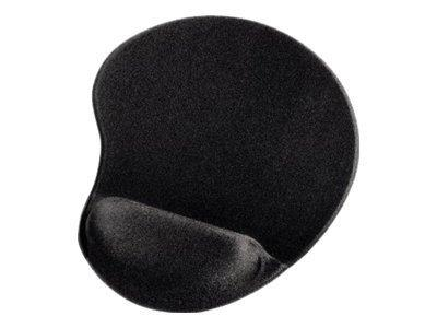 Hama Ergonomic Mini Mouse Pad - Black