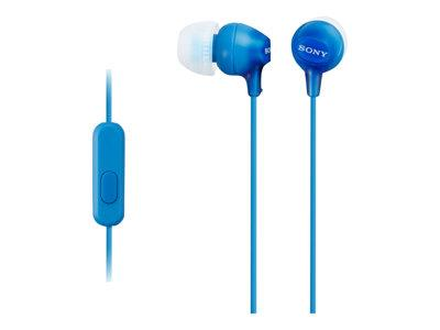 Sony In Ear Headphones Blue - 1.2M Cord