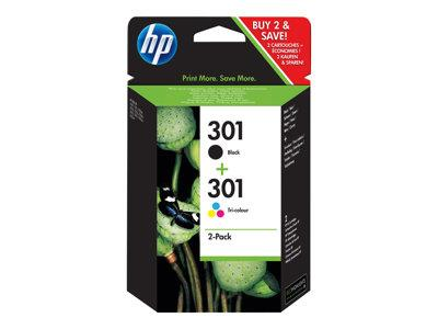 HP 301 Original ink Cartridge 3 Pack