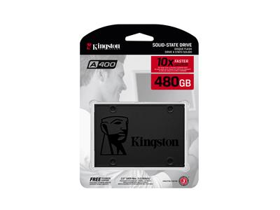 Kingston SSDNow A400 480GB SATA 6Gb/s SSD