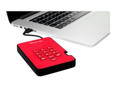 istorage diskAshur2 256-bit 1TB - Red