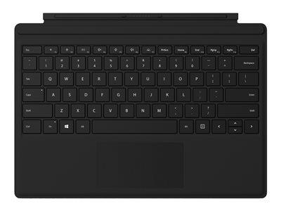 Microsoft New Surface Pro Type Cover w/Fingerprint Reader - Black