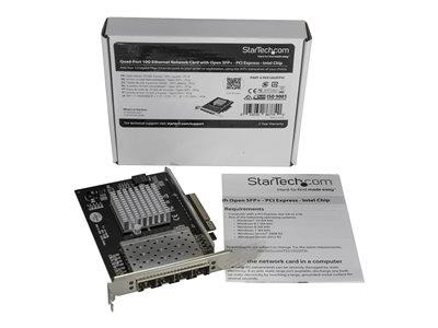 StarTech.com 4Port SFP+ PCIe Network Card