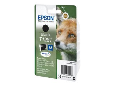 Epson T1281 5.9 ml -M size black original blister ink cartridge