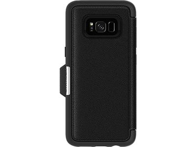 OtterBox Strada Series for Samsung Galaxy S8 Plus - Onyx Black
