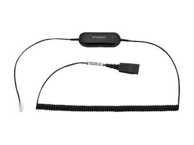 Jabra Smart Cord GN1218, QD To RJ9 For Jabra QD Headsets