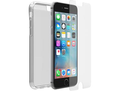 OtterBox Clearly Protected Skin for iPhone 6/6s with Alpha Glass Bundle