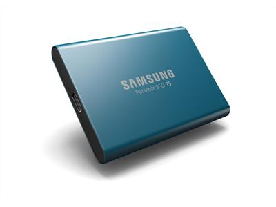 Samsung 500GB T5 Series USB 3.1 Type-C External Portable SSD