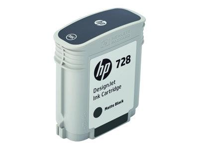 HP 728 Matte Black Ink Cartridge