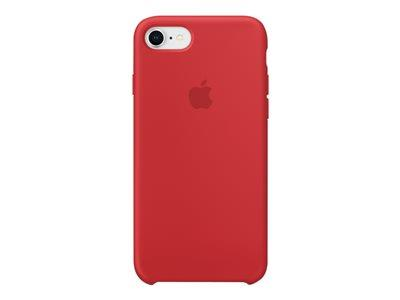 Apple iPhone 8 / 7 Silicone Case - (PRODUCT) RED