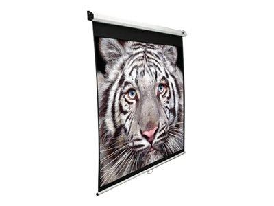 "Elite Screens 150"" Manual Pull Down Projection Screen (16:9) White"