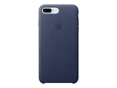 Apple iPhone 8 Plus / 7 Plus Leather Case - Midnight Blue