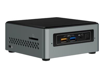 Intel Next Unit of Computing - Barebone Mini PC Celeron J3455