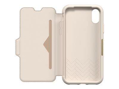 OtterBox Strada Folio for iPhone X - Soft Opal Pale Beige - Limited Edition