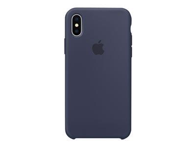 Apple iPhone X Silicone Case - Midnight Blue