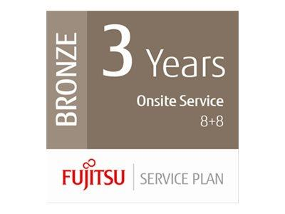 Fujitsu Extends Warranty to 3 Year with 8+8hrs On-Site Fix for Low Volume Scanners - Onsite 8 Hours