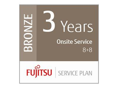 Fujitsu Extends Warranty to 3 Year for Network Scanners - 8hrs On-Site 8hrs Fix
