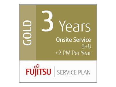 Fujitsu Extends Warranty 3 Years Low Volume Production Scanners 8+8hrs On-Site 2 x PM