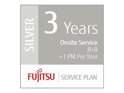 Fujitsu Extends Warranty 3 Years Low Volume Production Scanners - 8+8hrs On-Site 1 x PM