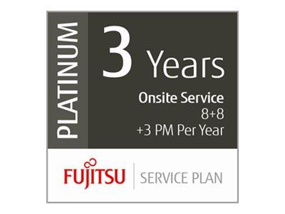 Fujitsu Extends Warranty 3 Years Low Volume Production Scanners - 8hrs On-Site 8hrs Fix 3 x PM