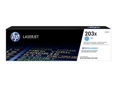 HP 203X High Yield Cyan Original LaserJet Toner