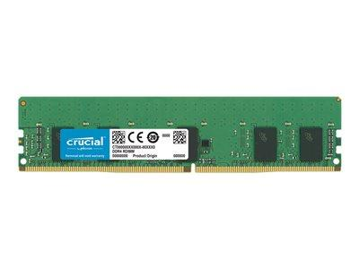 Crucial 8GB DDR4 PC4-21300 2666MHz CL19 ECC Reg. 1.2V RDIMM