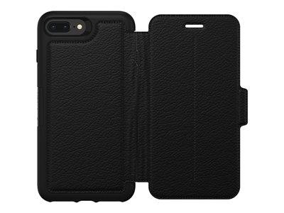 OtterBox Strada Folio Case for iPhone 7/8 Plus - Black
