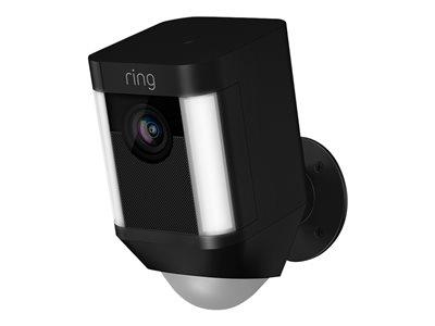Ring Spotlight Cam Battery Security Camera - Black