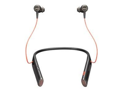 Plantronics Voyager 6200 UC Bluetooth Wireless EarBud Neckband H/set BLK