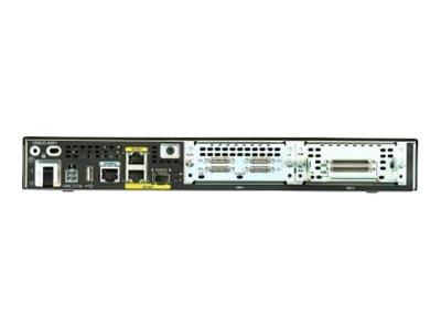 Cisco ISR 4221 Router GigE WAN ports: 2 Rack-Mountable