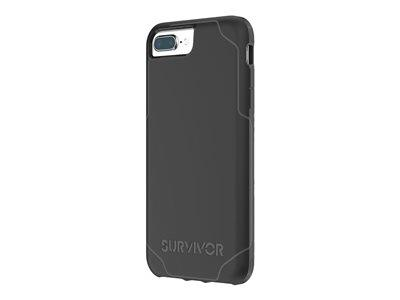 Griffin Survivor Strong iPhone 8+/7+/6s+/6+ Black/Grey