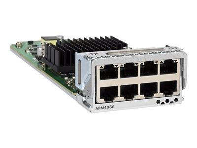 NETGEAR 8 x 100M/1G/2.5G/5G/10GBASE-T Port Card For M4300-96X