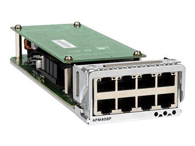 NETGEAR 8 x 100M/1G/2.5G/5G/10GBASE-T PoE+ Port Card For M4300-96X
