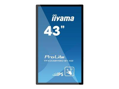 "iiyama ProLite TF4338MSC-B1AG 43"" 1920x1080 Interactive Display"