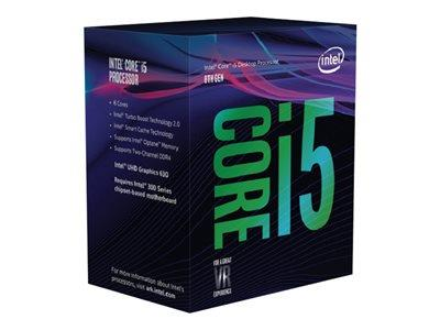Intel Core i5 8400 2.8GHz 6-core 9MB cache LGA1151 - includes Intel Optane Memory Series 16GB