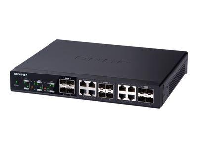 QNAP QSW-1208-8C 12 port Unmanaged Gigabit Ethernet Switch