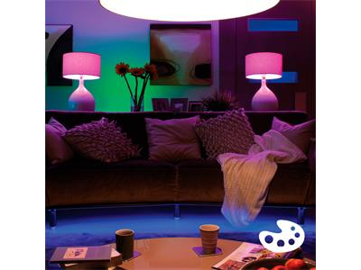 Philips Hue White and Colour Ambiance B22 Single Lamp