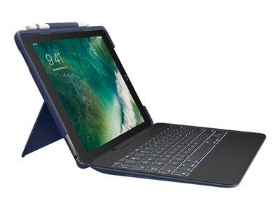 "Logitech Slim Combo Keyboard and Folio Case for iPad Air (3rd Gen)/ iPad Pro 10.5"" - UK English"